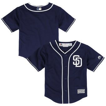 sports shoes c351e 926e2 Infant San Diego Padres Majestic Alternate Navy Official ...