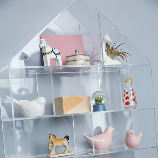 Invisible House Wall Shelf | The Land Of Nod