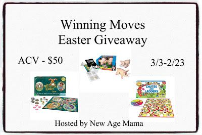 New Age Mama: Winning Moves Easter Giveaway