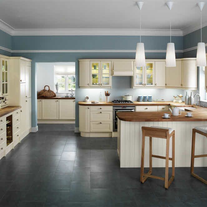 Pure Elegance, Beautiful Proportions And Sheer Simplicity Of Craftsmanship  Make This Traditional Kitchen Classic.