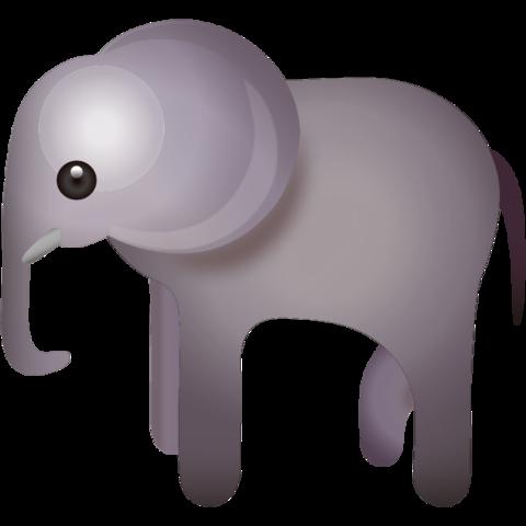 Elephant Emoji Emoji Cool Emoji Icon Emoji