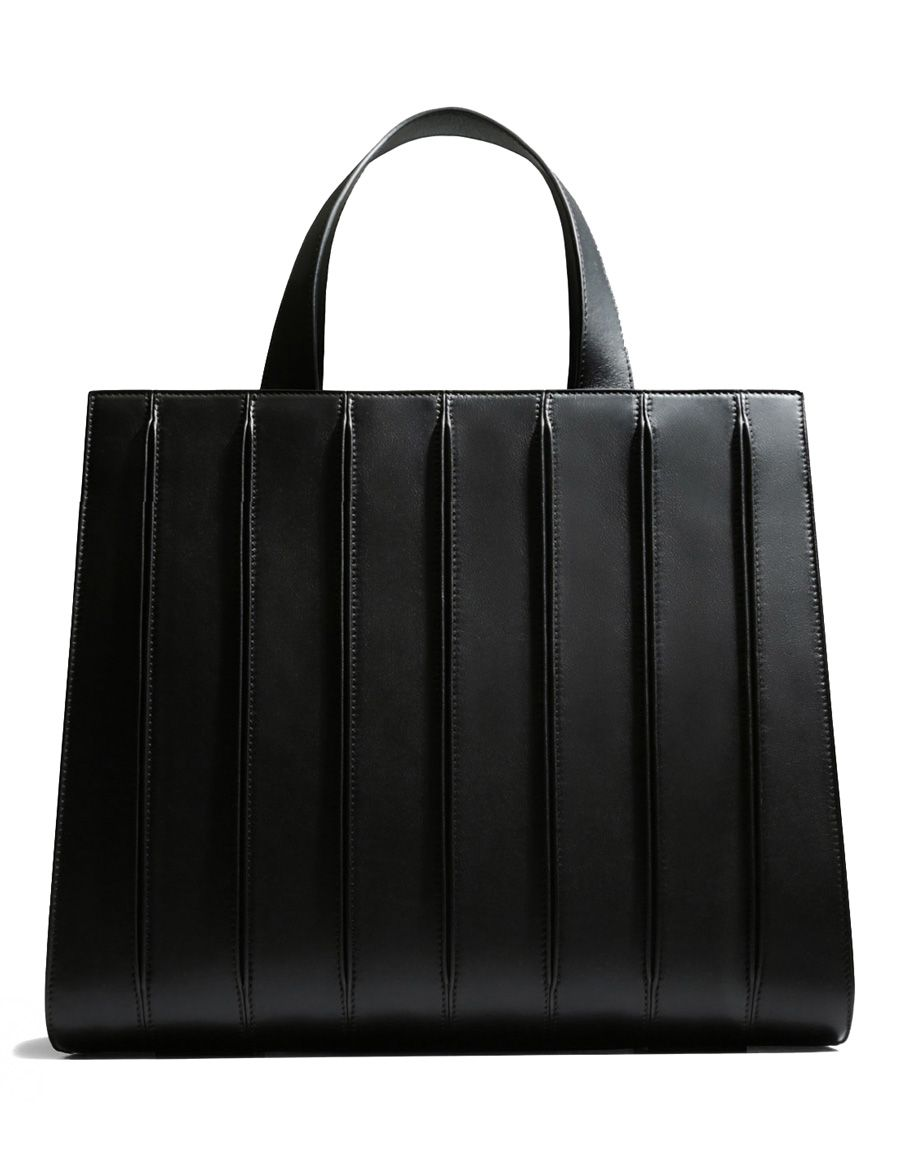 b6db605174f30 Max Mara Whitney bag by Renzo Piano Building Workshop black color In  collaboration with Renzo Piano Building Workshop