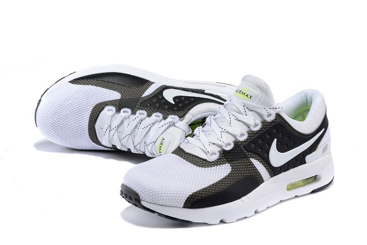 cheaper 68d59 bff95 NIKE AIR MAX ZERO QS WHITE BLACK WHITE 789695 006 | NIKE AIR