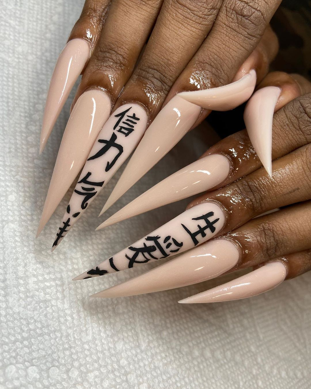 "Nail Tech on Instagram: ""China Doll ❤️ @grabbers_bycyn @crylicsyouneed #atlnailtech #houston #houstonnailtech #houstonnails #houstontx #nailsofinstagram #nails…"""