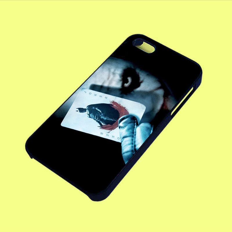 Joker batman card phone case