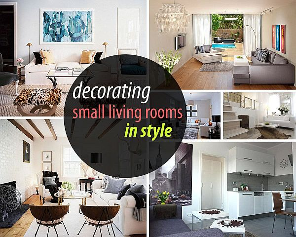 decorating a small living room Living Room Ideas Pinterest