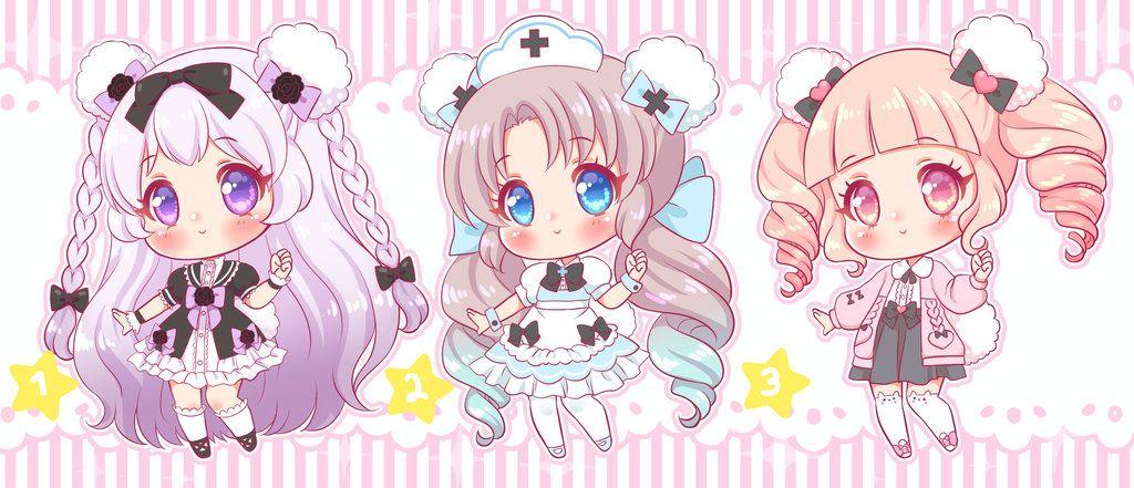 [CLOSED]ADOPT by KARIScoba Anime chibi, Kawaii art, Anime