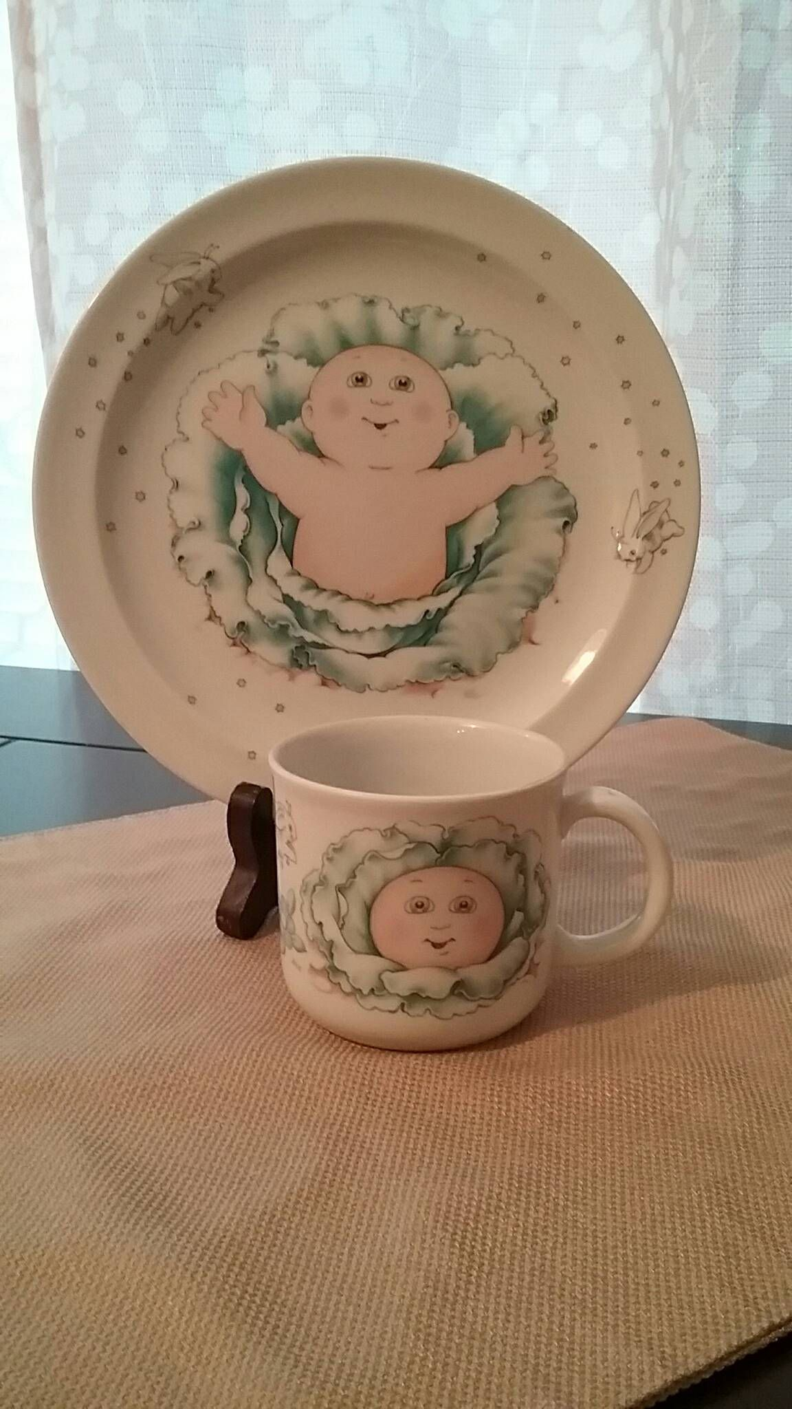 Excited To Share This Addition To My Etsy Shop 1984 Cabbage Patch Kids Royal Worcester Porcelain Cup And Plate Cabbage Patch Kids Cabbage Patch Porcelain Cup