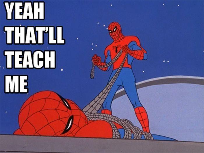 Did someone say spiderman thread - photo#33