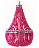 Empire Chandelier  by Marjorie Skouras in shocking color!
