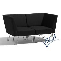 Photo of Lounge chair Bla Station Qvarto 1-seater corner element Choice of color options Bla Station