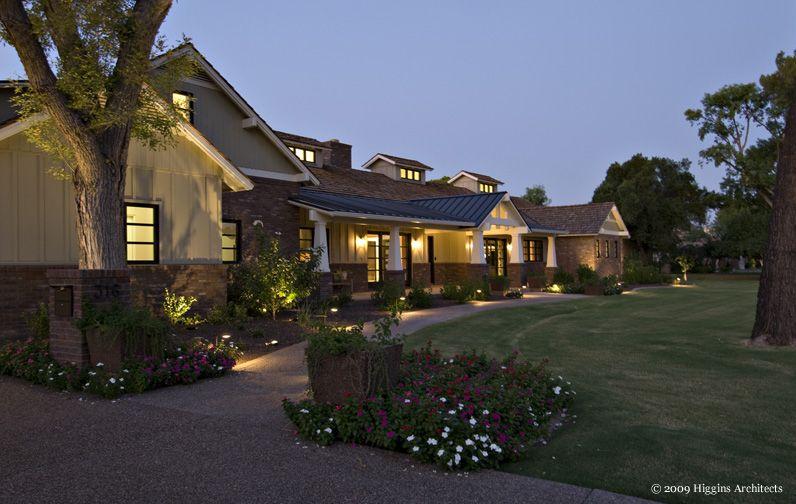Higgins Architects Scottsdale Architect Arcadia Architect Phoenix Architect Phoenix Homes House Exterior Modern Farmhouse Style