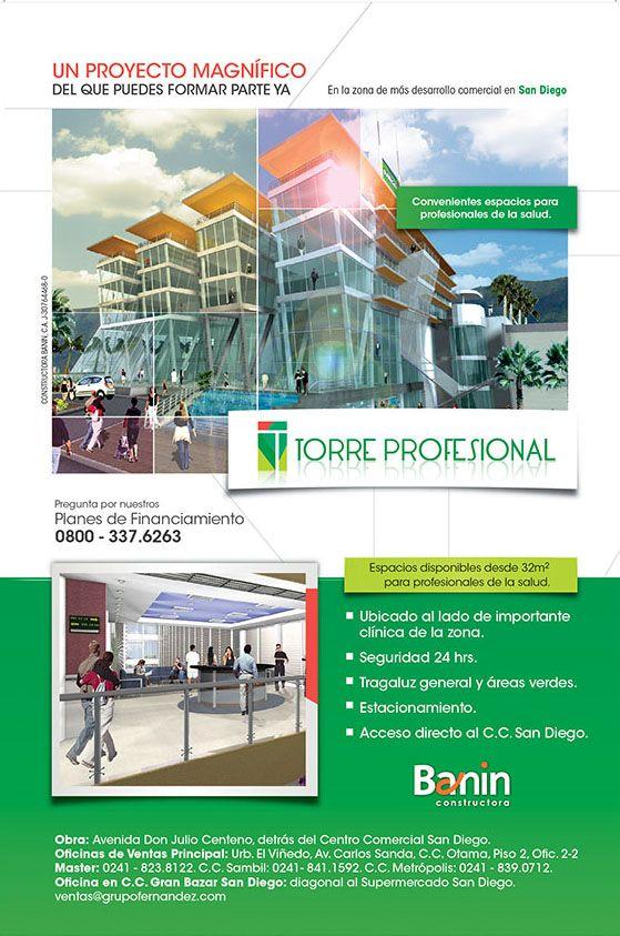 Aviso Torre Profesional del GRUPO FERNANDEZ