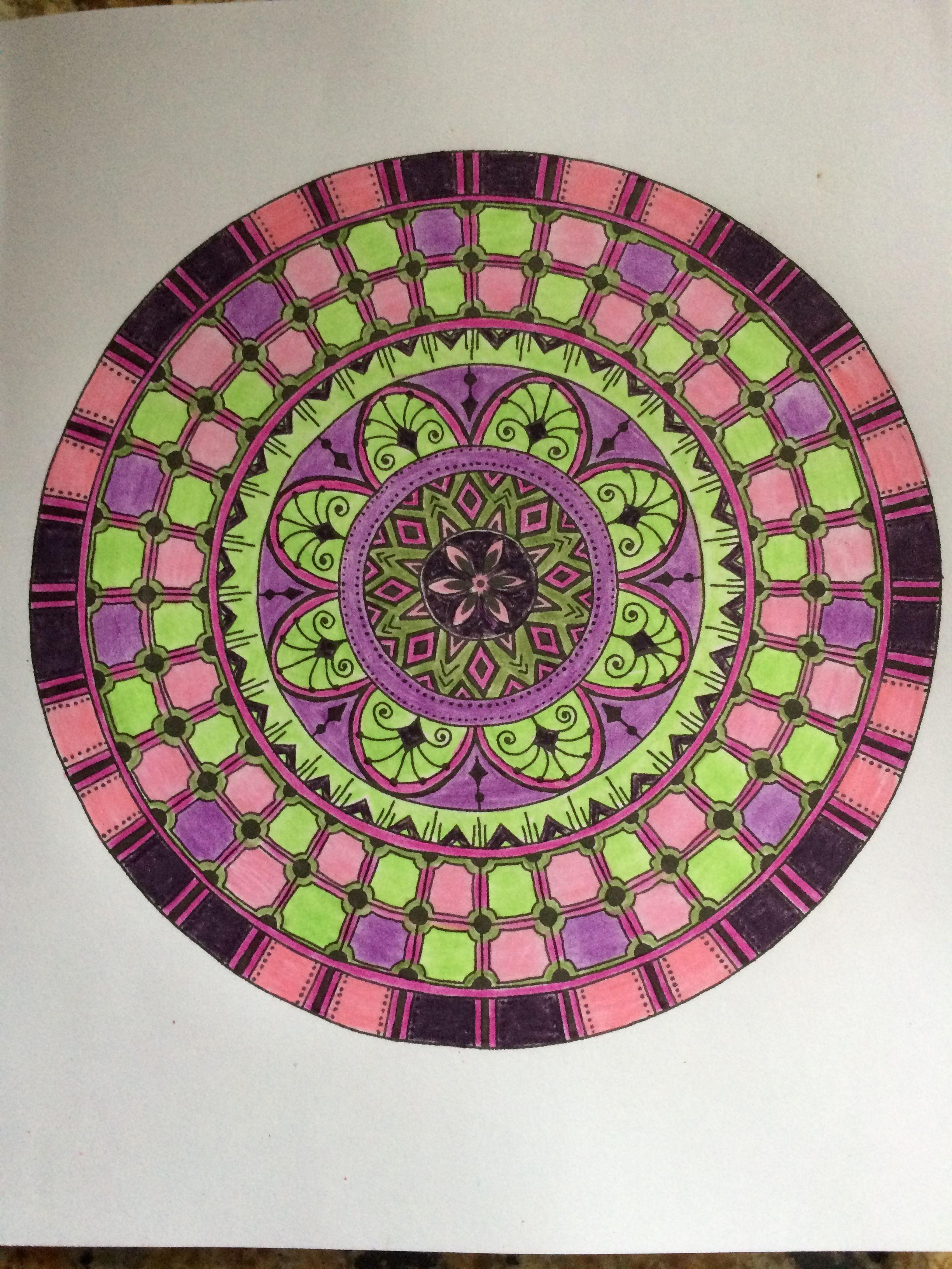 Zendoodle coloring enchanting gardens - Zendoodles Coloring By Nancy Chard