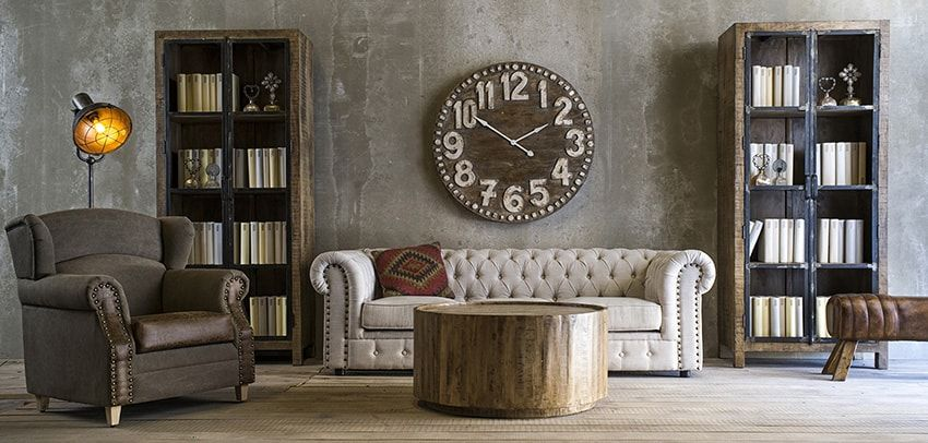 muebles saln estilo industrial Muebles Vical Home Pinterest