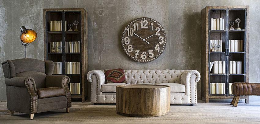 muebles saln estilo industrial - Muebles Estilo Industrial