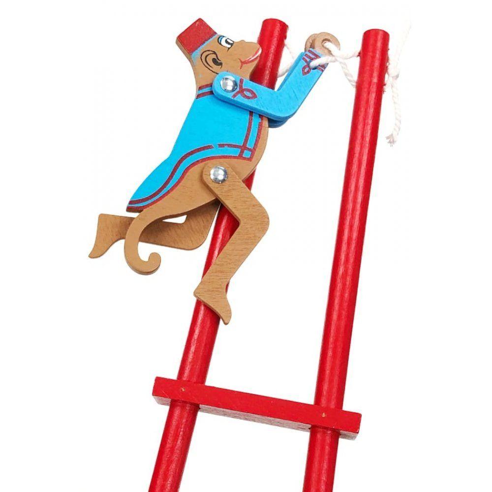 Trapeze Monkey Wooden Acrobatic Toy