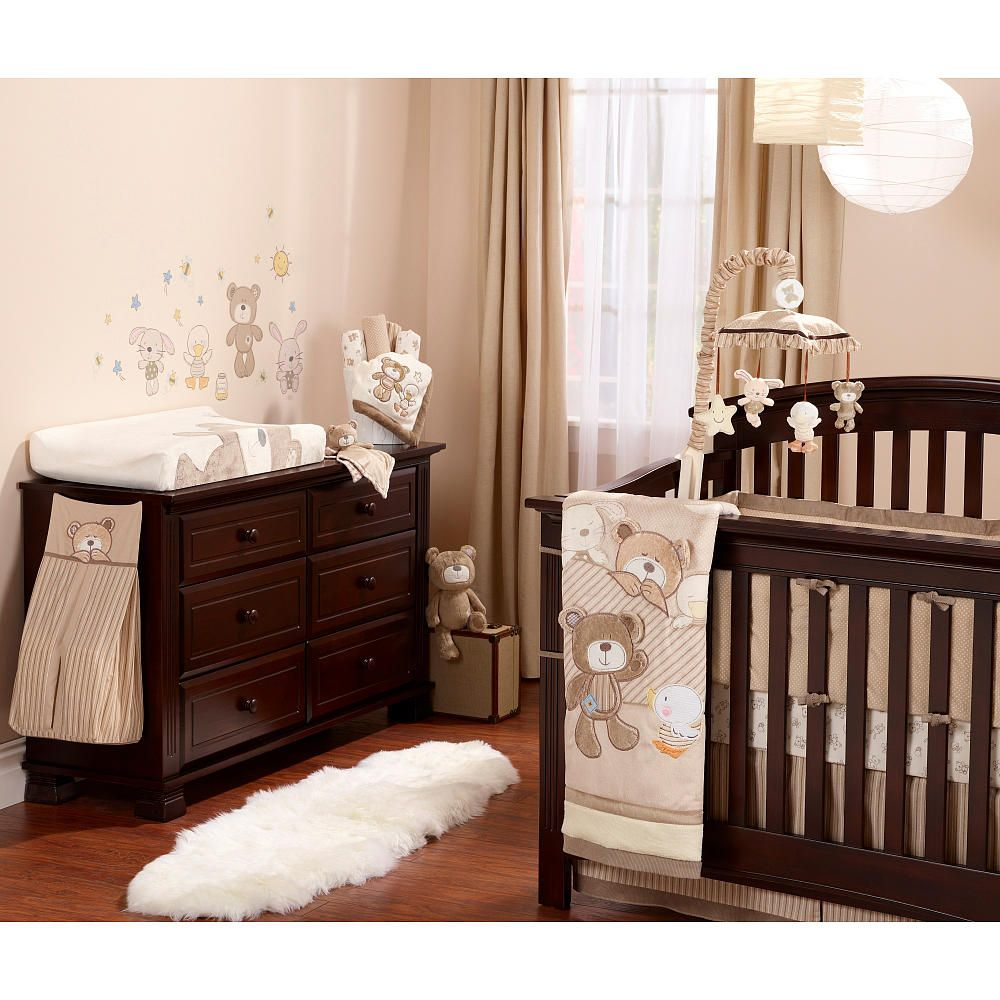 Koala Baby B Is For Bear 4 Piece Crib Bedding Set Tan Babies R Us