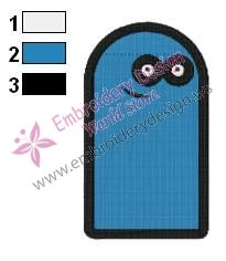 Bloo Fosters Home Embroidery Design