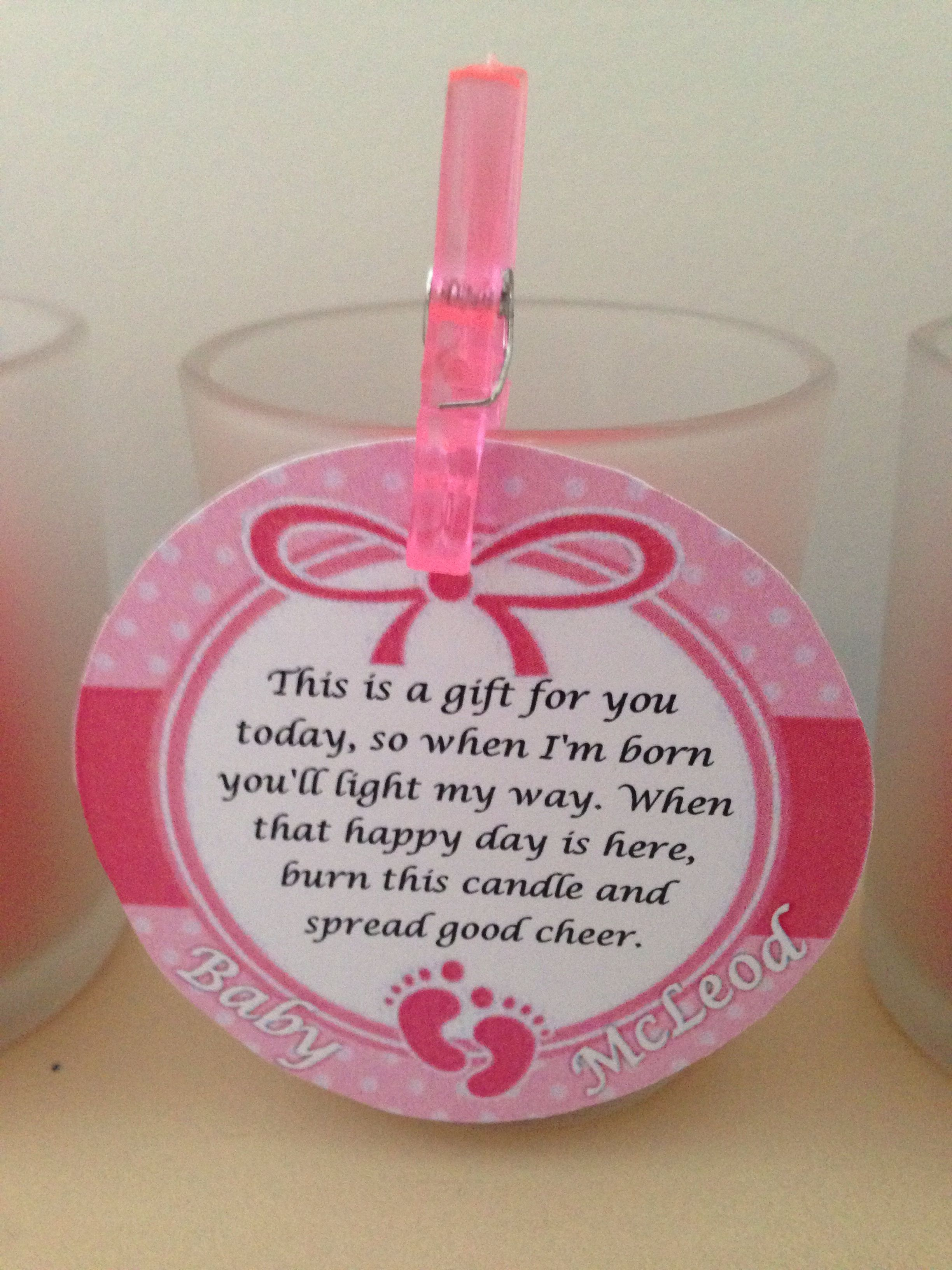 Baby Shower Thank You Gift Baby Shower In 2018