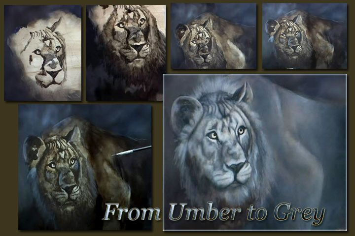 How to Paint Animals – Painting Realistic Wildlife Fur