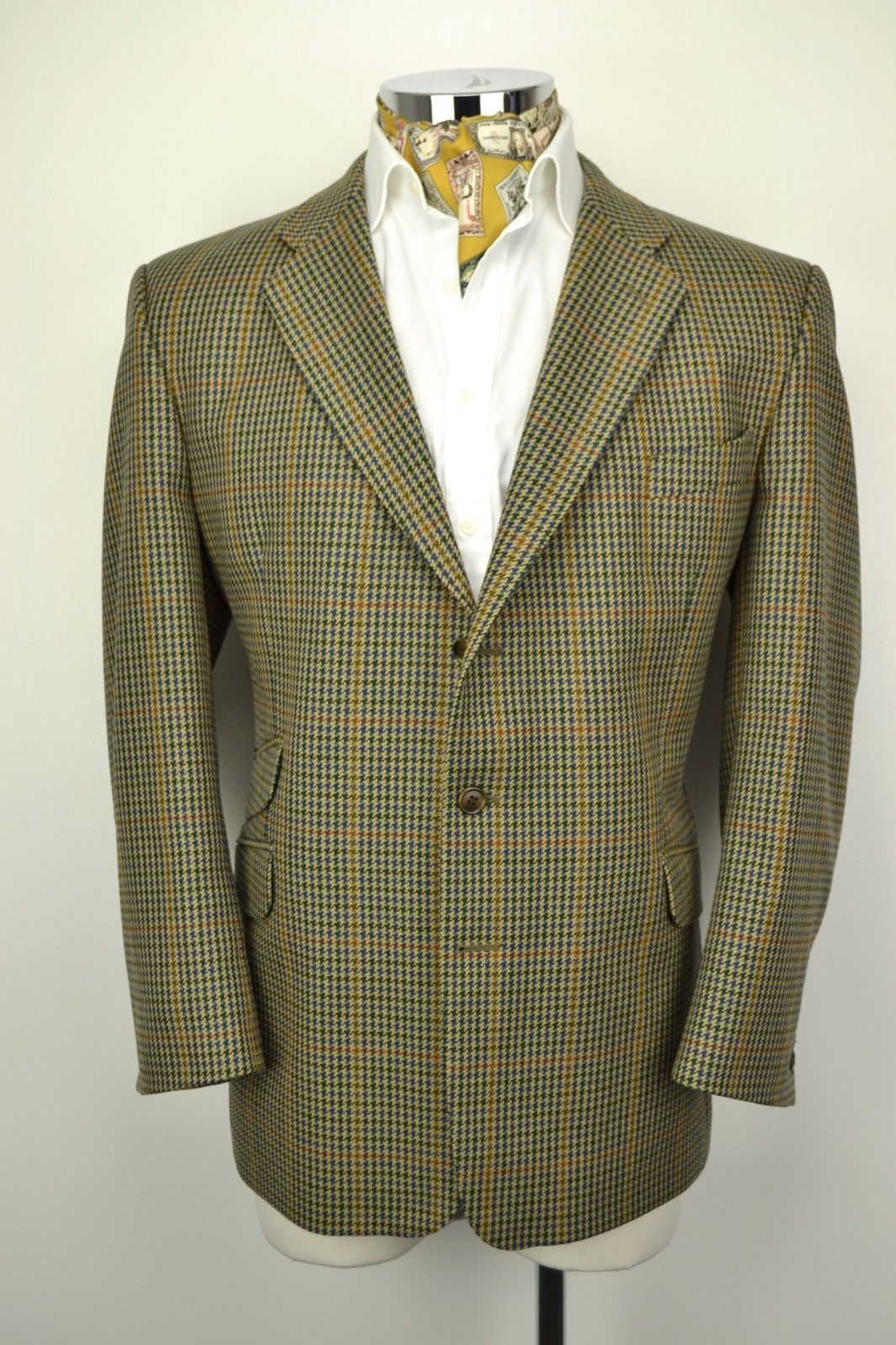 BROOK TAVERNER Saxony Supreme Tweed Blazer JACKET 46