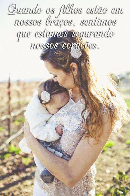 segurando  e abraçando meus amores me sinto assim...