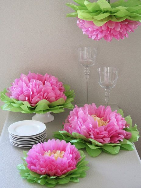 Hanging paper flowers by heart to heart at gilt gzlk pinterest hanging paper flowers by heart to heart at gilt mightylinksfo