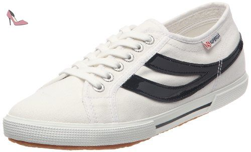 2750-Cotw Multicolors Outsole, Baskets Femme, Blanc (White 901), 36 EUSuperga