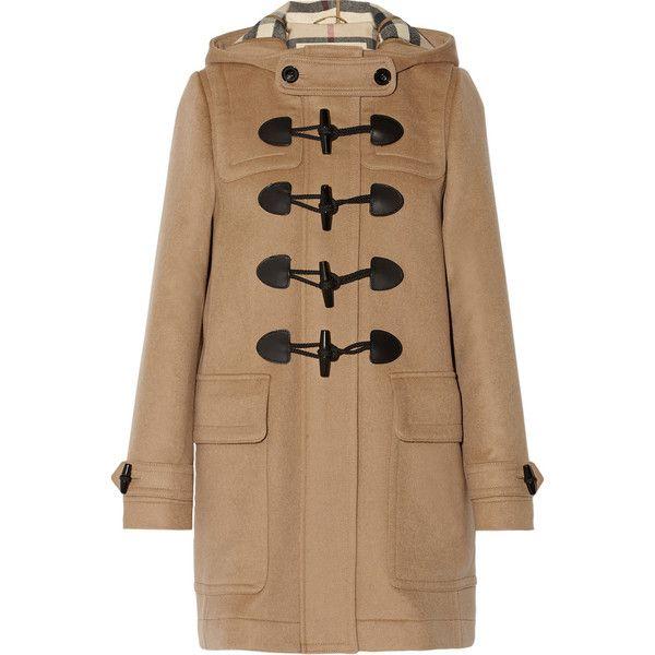 92f623d58174 Burberry Brit Hooded wool duffle coat ( 1