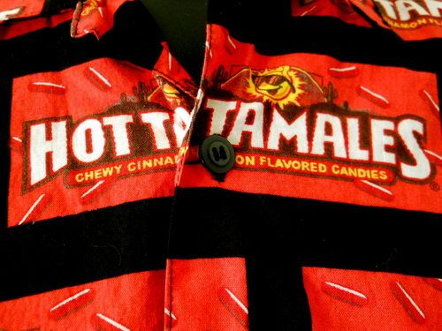 Red Hot Tamales Candy retro Mens shirt is just too cool for words!