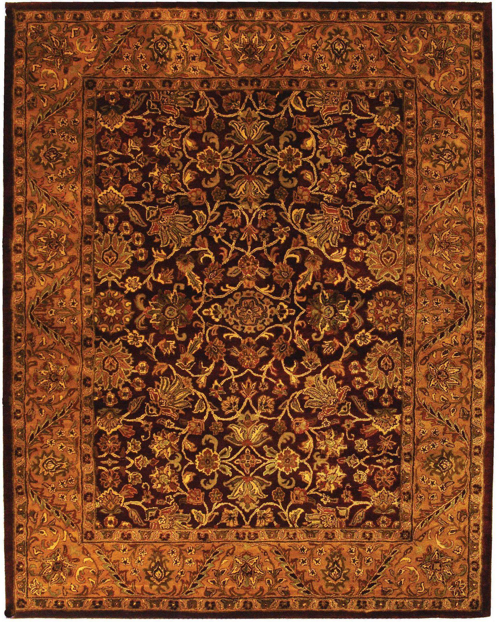 Safavieh Golden Jaipur Gj250 Area Rug Area Rugs Wool Area Rugs