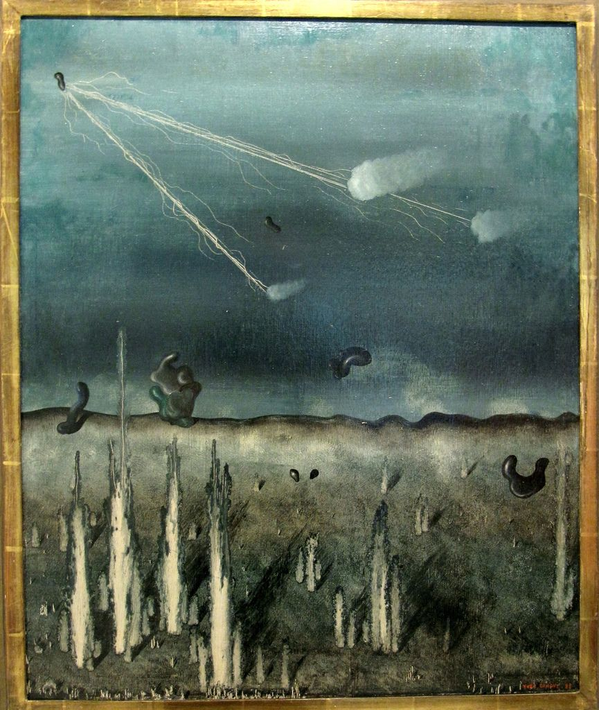 Yves Tanguy Tomorrow I shall be shot, 1928 Artist