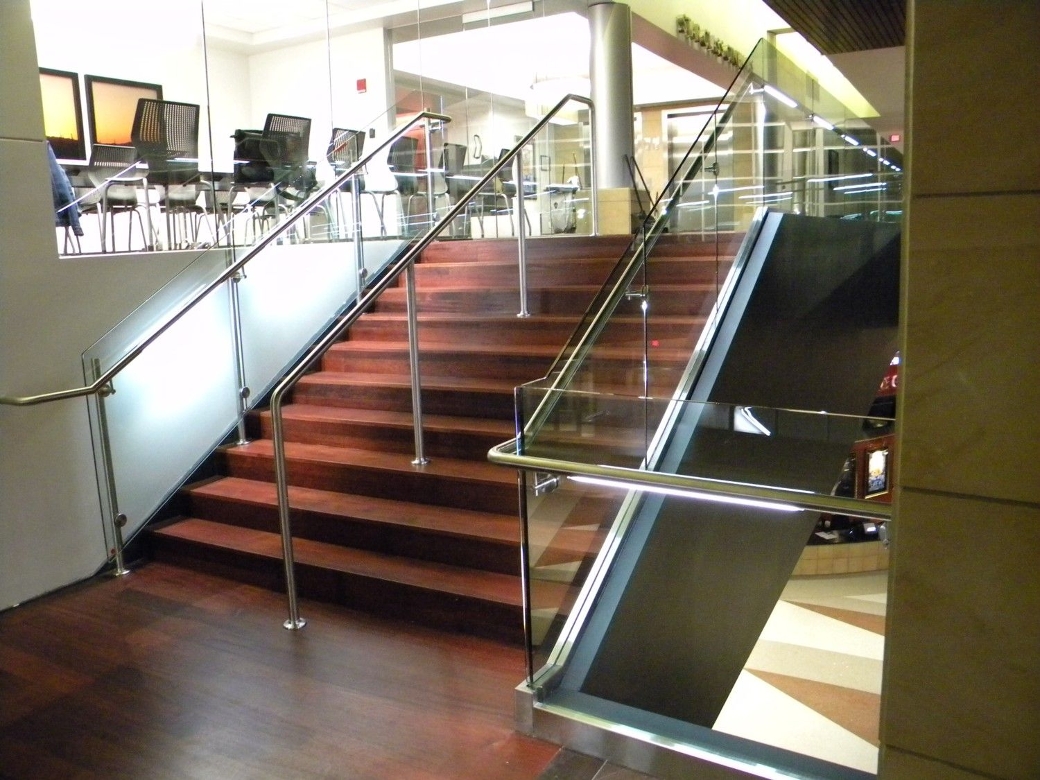Best Lighted Handrail Lumenrail Architecutural Lighting 640 x 480