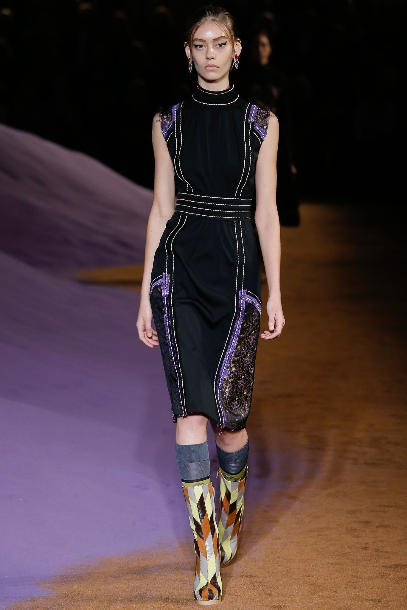 Spring 2015 Ready-to-Wear - Prada www.nonamefashion.eu   Платье в ... 90188bacf06