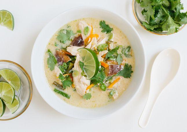 Tom Kha GaiThai coconut soup Paleo AIP Soups Pinterest