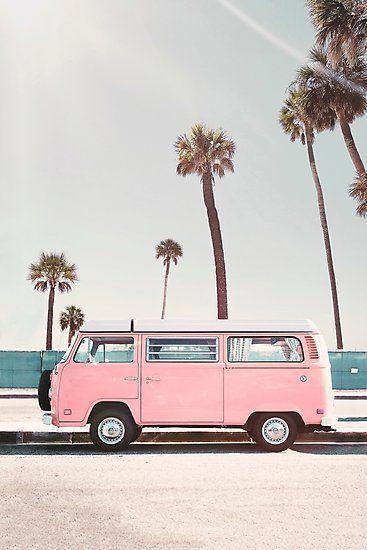 'Pink Van' Photographic Print by sisiandseb