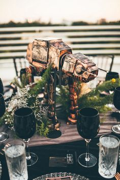 Epic Star Wars Wedding // Orlando Science Center // Artistic Wedding Photographer