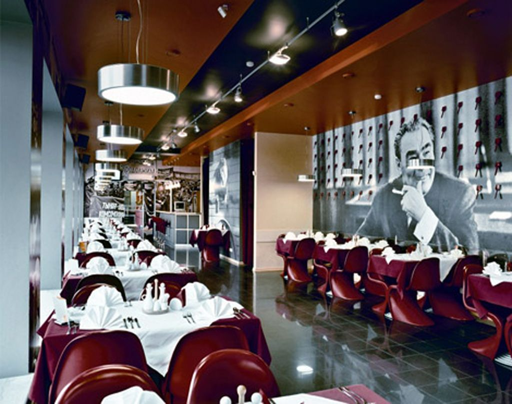small contemporary restaurant designs | modern restaurant interior