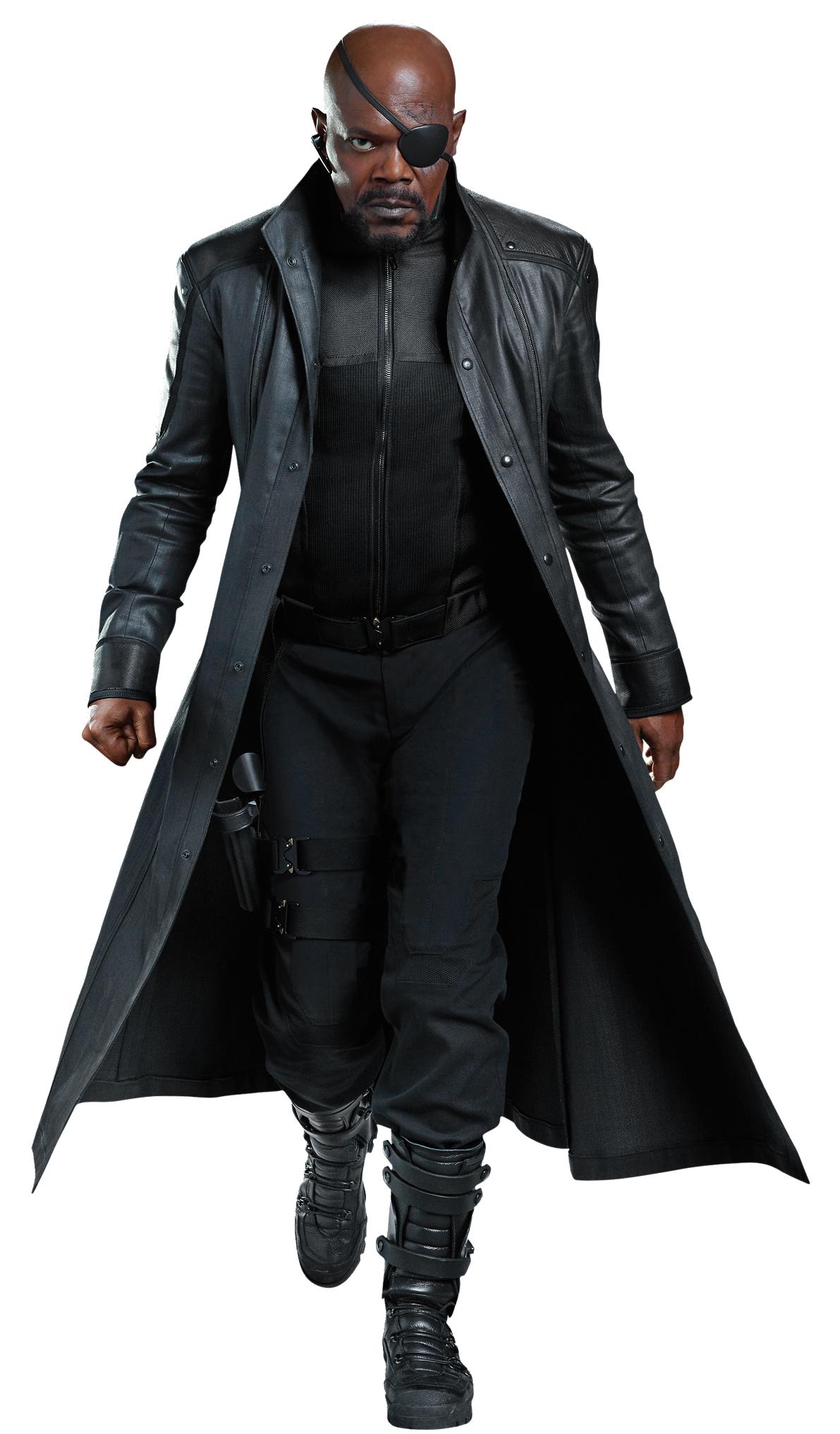 Nick Fury Disneywiki Nick Fury Disfraces Marvel Personajes Avengers