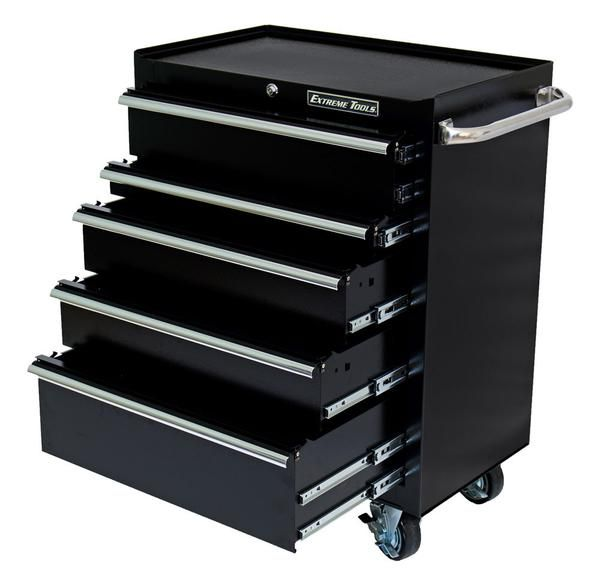 30 X 20 Deep 5 Drawer Extreme Portable Workstation Roller