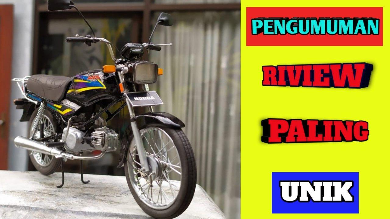 Terunik Riview Miniatur Motor Honda Win 100 Tahun 80 An Motor Klasik Honda Miniatur