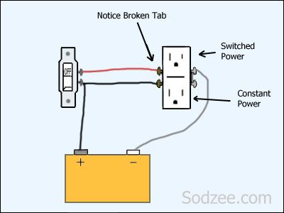 Wiring Split Circuit Outlet - Wiring Diagram Review on electrical outlet diagram, light switch outlet diagram, wiring outlets in parallel diagram, 12 volt parallel battery wiring diagram,