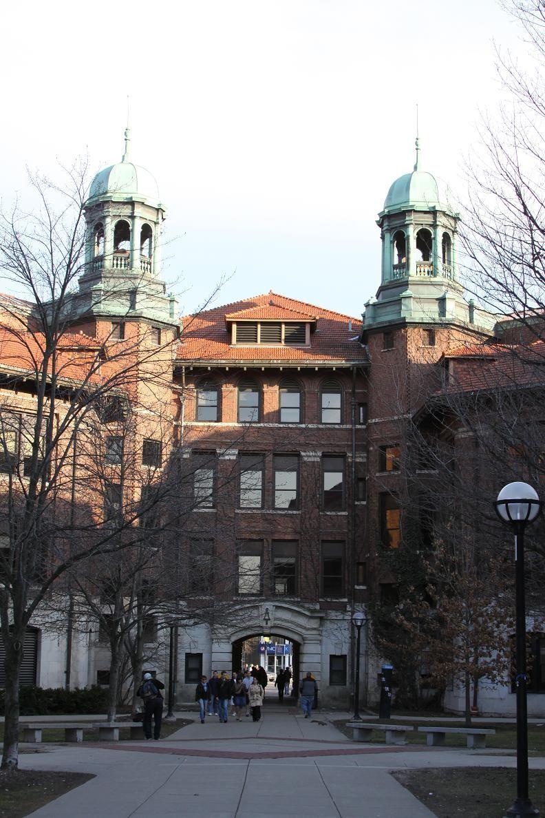University Of Michigan West Engineering Arch