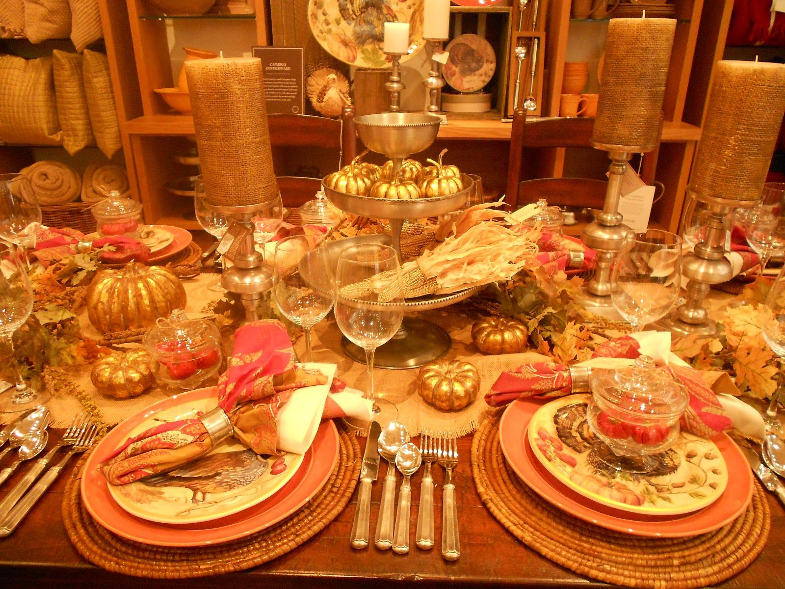 Thanksgiving table decorations images high definition Thanksgiving table