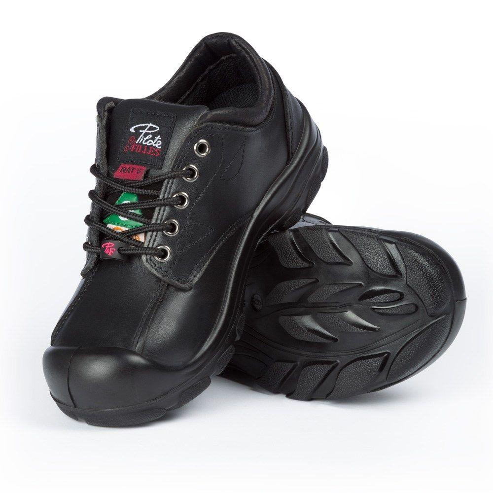 Women\u0026#039;s steel toe safety shoes