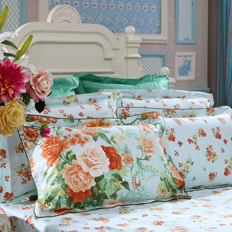 King Queen Bettwäsche Fuanna 4pcs,home Textile, Bedding Sets Luxury Include ...