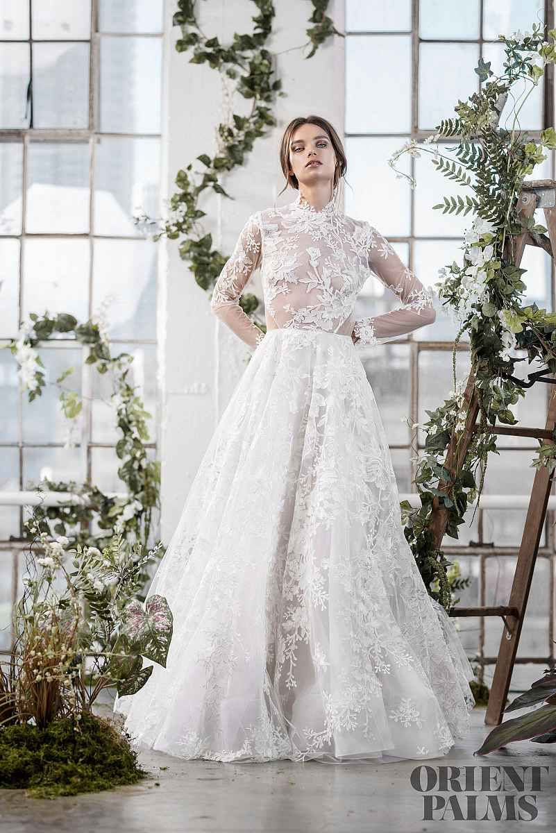 Katherine Tash Herbst Winter 2019 2020 Brautmode Wedding