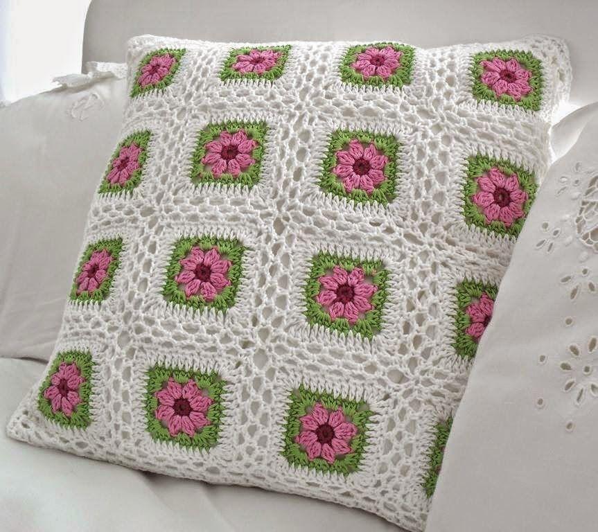 Patrones de almohadon al crochet | crochet | Pinterest | Patrones ...