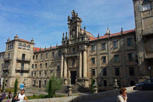 Monasterio de San Martín Pinario en Santiago de Compostela, el segundo monasterio más grande de España